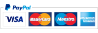 payments accepted by paypal and credit cards
