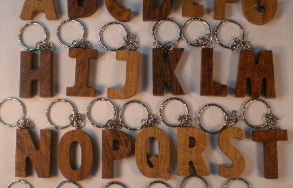 All Letters Keyrings