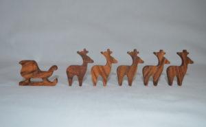 Sleigh & Reindeer