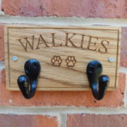 Hook on wall WALKIES & Paws