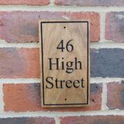 46 High Street – Black