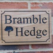 Black – Bramble Hedge