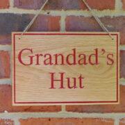 Red – Grandad's Hut