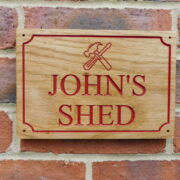 Red – John's Shed