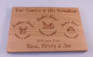 Santa Treat Board